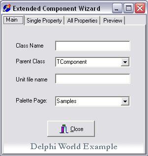 Мастер создания компонент - Delphi Sources FAQ