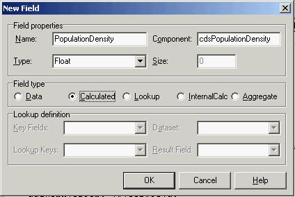 Delphi Sources - The Fields of a Dataset - English Delphi