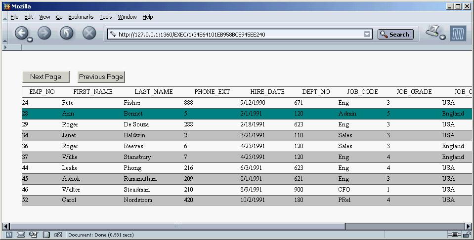 Delphi Sources - Web Database Applications - English Delphi